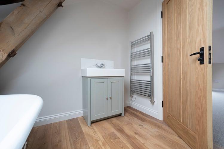 Oak Internal Door to Bathroom