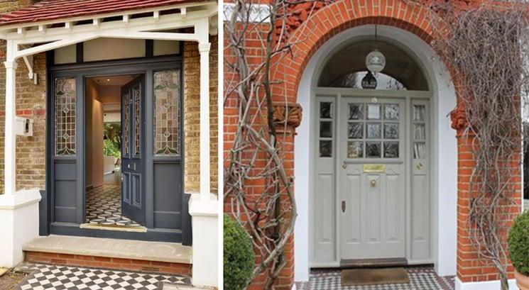 Edwardian Front Entrance Doors