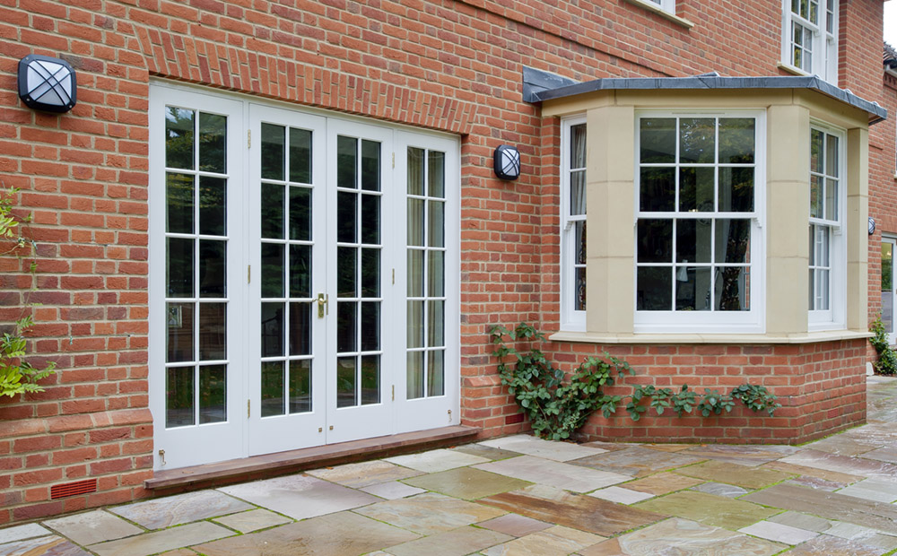 Timber French Doors by Salisbury Joinery