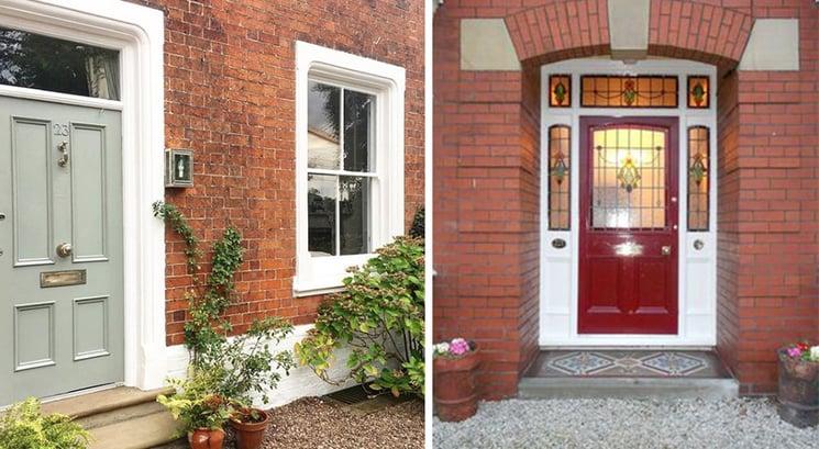 Victorian Front Door Examples