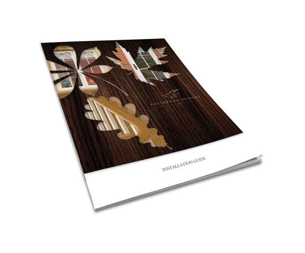 Salisbury Joinery Installation Guide - BookletL