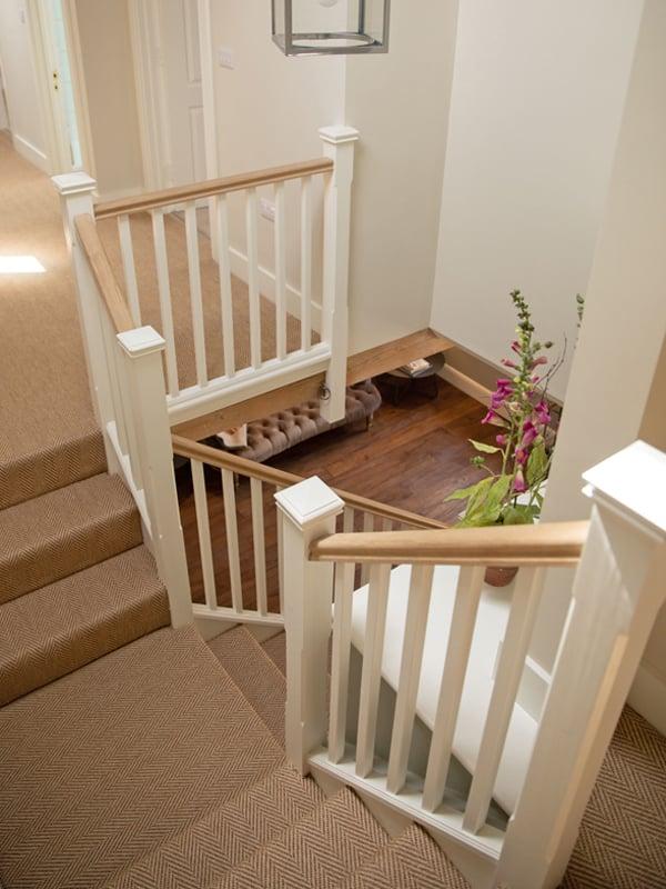 Farmhouse Staircase Wilton