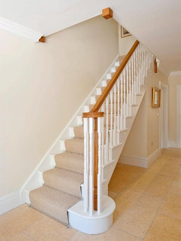 Crisp Oxford Staircase