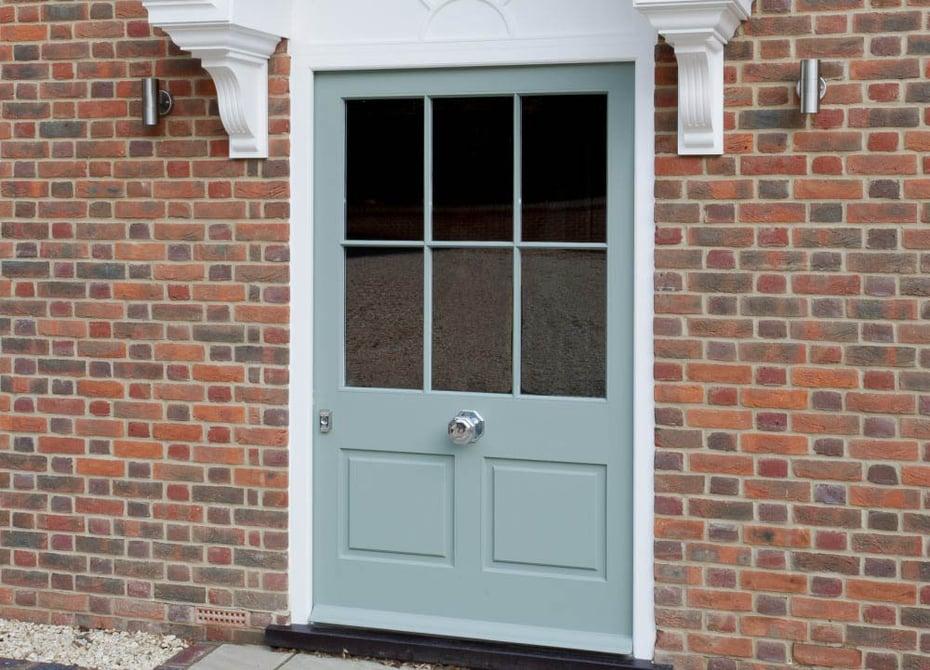 Hamphire New Build Green Door