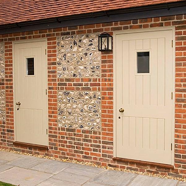 External Timber Panelled Doors