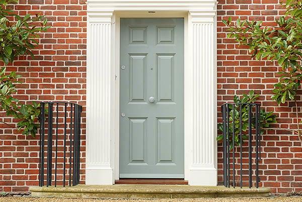 External Green Door