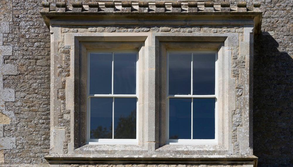 Heritage Sash Window On Listed Building