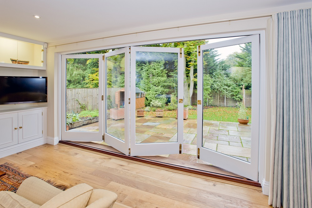 Bi-Folding Doors Interior View