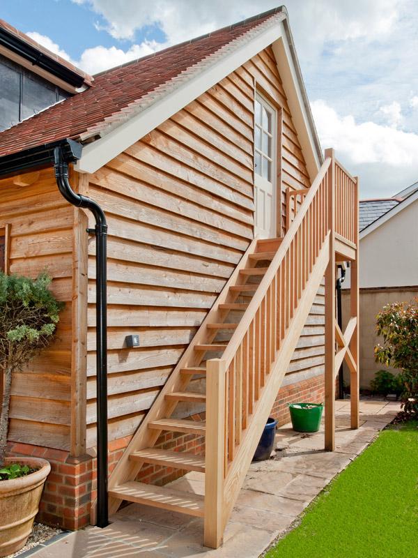 External Wooden Stairs 3